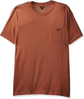 OVS Men's 191TSHCOBITE-289 T-Shirt, Brown (Rawhide 1179), Large
