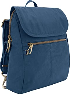 travelon anti theft signature slim fashion backpack