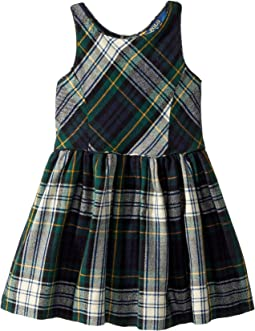 Polo Ralph Lauren Kids - Tartan Fit-and-Flare Dress (Toddler)