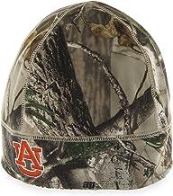 NCAA Auburn Tigers Embroidered Realtree Camo Fleece Beanie by '47