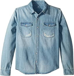 AG Adriano Goldschmied Kids Bryson Denim Shirt (Big Kids)