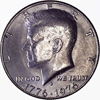 1976 D Kennedy Half Dollar 50C About Uncirculated
