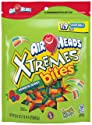 AirHeads Xtremes Bites, Rainbow Berry, Halloween Candy, 30.4 OZ Stand Up Bag