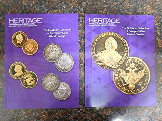 Heritage Catalog Auction-World & Ancient Coins Auction- The D.Moore Collection Total Set of 2. Year 2017.