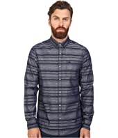 Original Penguin - Long Sleeve Horizontal Stripe Chambray