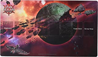 White Wizard Games Star Realms Death World Playmat Card Games