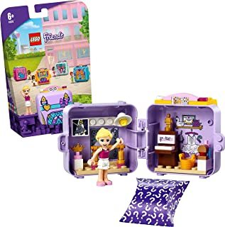 LEGO 41670 Friends Stephanie's Ballet Cube Play Set, with Mini Doll, Collectible Dance Toy for Kids 6+ Years Old