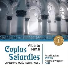 Coplas sefardíes, Op. 18: No. 3, Bendicho Su nombre