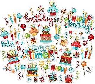 Paper Die Cuts - Birthday - Over 60 Cardstock Scrapbook Die Cuts - by Miss Kate Cuttables