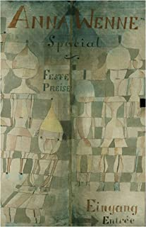 Music Poster Paul Klee - Window Display for Lingerie 1922 Print 60x91.5cm