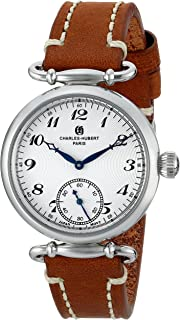 Charles-Hubert, Paris Women's 6957-W Premium Collection Analog Display Japanese Quartz Brown Watch