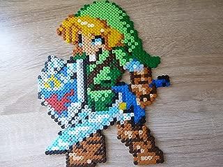 Sprite of Link • The Legend of Zelda (Majora's mask, Twillight princess, Ocarina of time, four sword.) • Hama Beads • Pixel Art