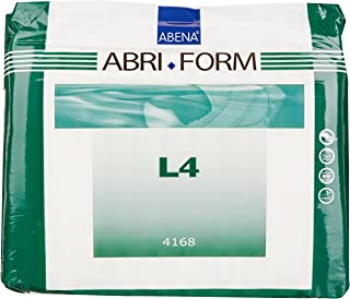 Abena Abri-Form Comfort Briefs, Large, L4, 12 Count
