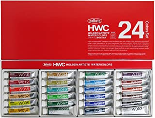 Holbein Wc W405 Set Of 24 5Ml Tubes