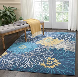 Best yellow flower rug Reviews