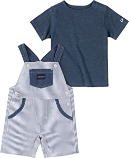 CALVIN KLEIN Baby Boys' 2 Pieces Shortall