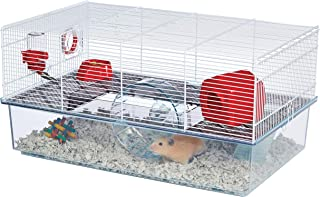 Critterville Brisby Large Hamster Cage   Includes ALL Accessories, White