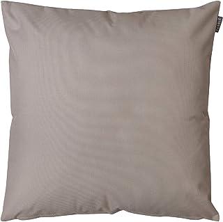 Bean Bag Bazaar Cojín de jardín, 43 cm, impermeable, relleno de fibra textil, cojín decorativo para bancos de jardín, sillas o sofás