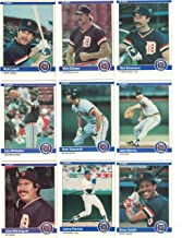 Detroit Tigers/Complete 1984 Fleer Detroit Tigers Baseball Team Set with Jack Morris, Alan Trammell, Lou Whitaker and More. World Series Champs!