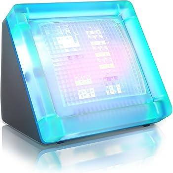mit integriertem digitalem Timer und Nachtlicht 4VWIN TV-Simulator Diebstahlschutz