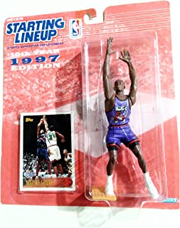 collectable Starting Lineup 1997 Marcus Camby Figurine and Card.