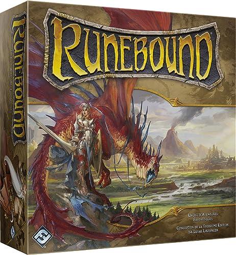Asmodee Asmodée FFRUN01 Runebound, dritte Edition