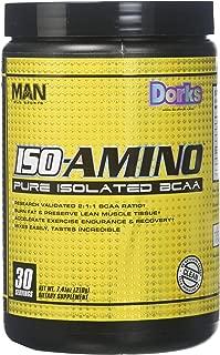 MAN Sports 30/Servings Dorks Iso-Amino, 7.41 Ounce
