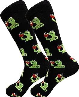 Balanced Co. Kermit Meme Dress Socks Funny Socks Crazy Socks Casual Cotton Crew Socks