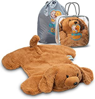 FRIENDLY CUDDLE Weighted Lap Pad for Kids 5 lbs. - Sensory Weighted Stuffed Animals - Lap Blanket for Toddlers Kids Adults...