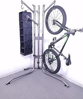 Rec-Rack | Super-Duty Garage Storage Rack for Multiple Bicycles, Skis, Skateboards, Helmets, More!
