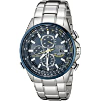 Deals on Citizen AT8020-54L Blue Angels World Chronograph Mens Watch