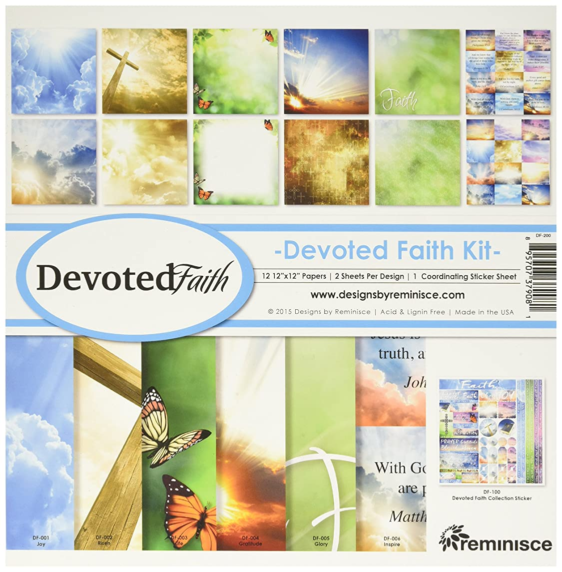 Reminisce Devoted Faith Collection Kit