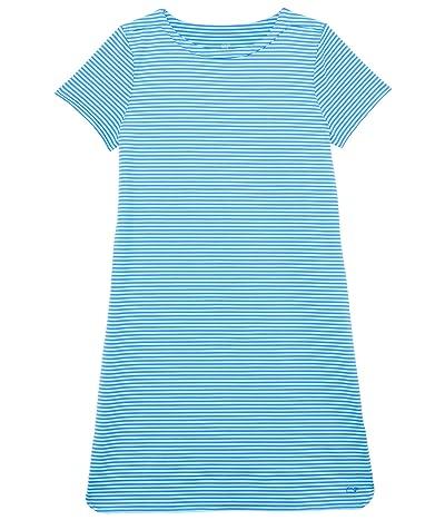 Vineyard Vines Kids Short Sleeve Stripe Sankaty Dress (Toddler/Little Kids/Big Kids)