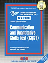 Communication and Quantitative Skills Test (CQST) (NYS Teacher Certification) (Passbooks for National Teacher Examinations)
