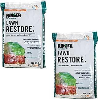 Safer Brand Ringer Lawn Restore, Lawn Fertilizer, 25 Pounds - 2 Pack