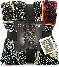 Game of Thrones Gifts Marchandise Got Couverture Super Doux de Luxe Jeté de lit Stark Lannister Targaryen Greyjoy Baratheon Tyrrell Grande Famille des Symboles Westeros
