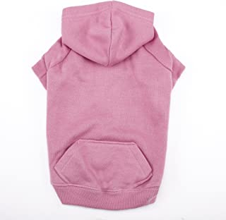 """Casual Canine Basic Hoodie for Dogs, 24"""" XL, Pink"""