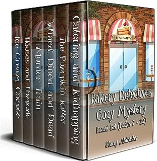 Bakery Detectives Cozy Mystery Boxed Set: Books 7 - 12