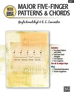 Major Five-Finger Patterns & Chords (Daily Warm-ups)