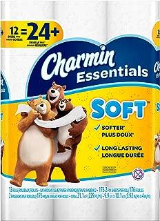 Charmin Essentials Soft Essentials 12 Double Rolls = 24 Regular Rolls