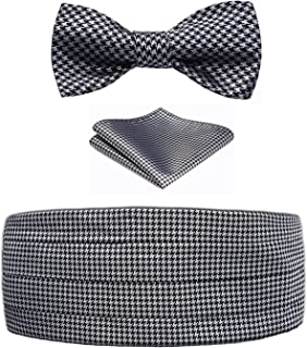 Best houndstooth bow tie and cummerbund Reviews