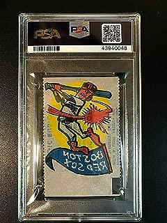 1961 Topps Magic Rub-Offs Boston Red Sox PSA EX 5#43940048