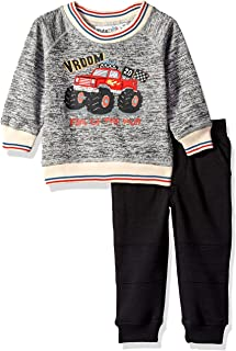 Kids Headquarters Baby Boys 2 Pieces Pullover Pant Set