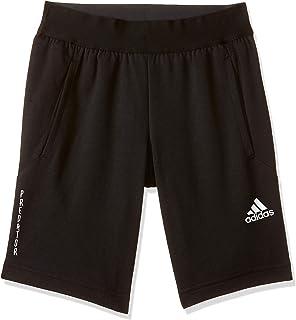 Adidas Boy's YB P U SHORT Shorts, Black (Black), 152