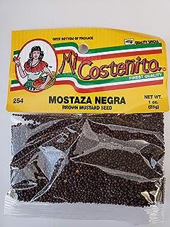 Indian Black Mustard Seed - 1 Oz