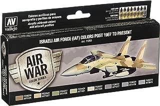 Vallejo Israeli Air Force (Iaf) Post 1967 to Present Set(8), 17ml