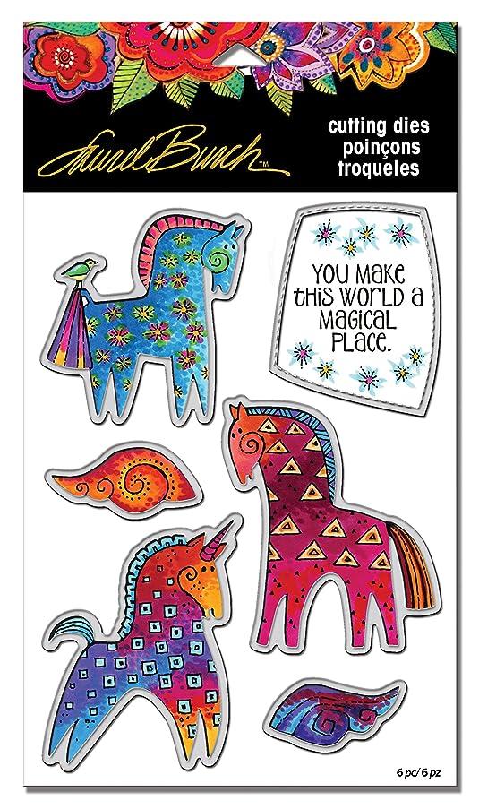 Stampendous LBDCS07 Laurel Burch Magical Horses Die Cut Set