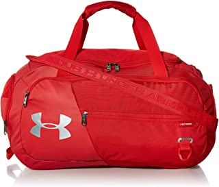 Under Armour Undeniable Duffle 4.0, Red (600)/Silver, Medium