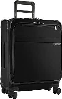 Briggs & Riley @ Baseline Luggage Baseline International Carry-On Wide-Body Spinner Bag, Black, Medium