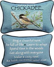 MW Advice From A Chickadee Your True Nature Word Pillow 12.5X8.5
